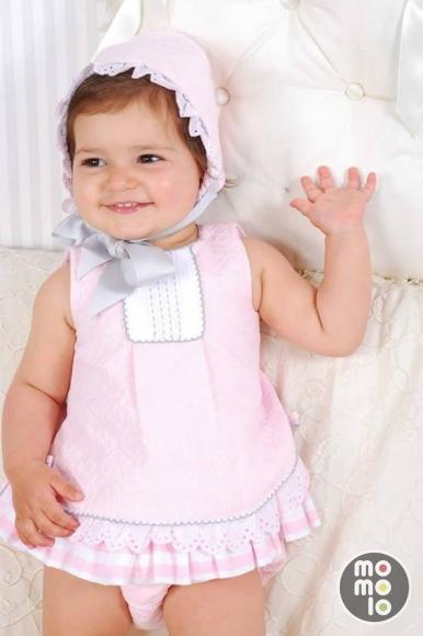 1f02b3f0c MOMOLO | moda infantil | Capota Kauli, Vestidos Kauli, Cubrepañal Kauli,  niña,