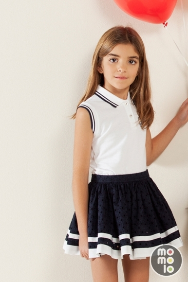 Girl clothing: Polo Shirts, Skirts | Carolina Herrera ...
