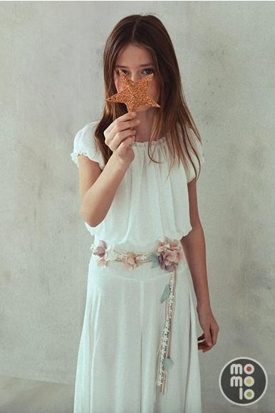 babe4b719 Ropa para niñas: Vestidos de Comunión | El Corte Inglés | MOMOLO red ...