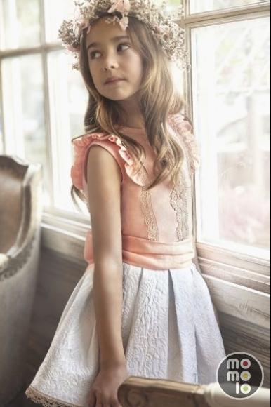 Vestidos tartaleta moda infantil