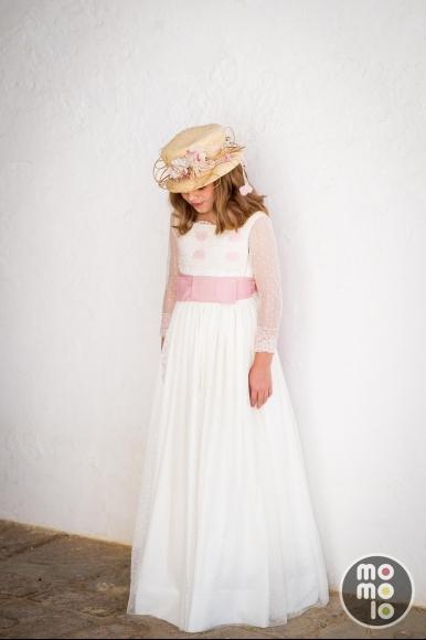 Ropa para niñas  Vestidos de Comunión 6e2238b754a