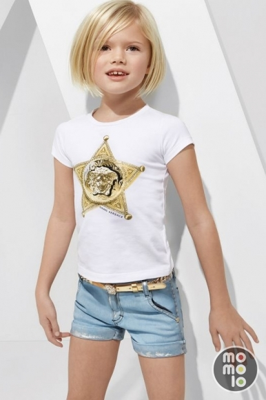 Girl Clothing T Shirts Shorts Belts Versace Momolo