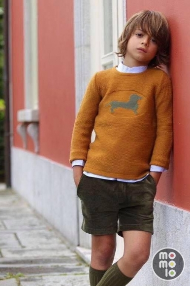 MOMOLO | moda infantil |  Cárdigans y jerséis Kid's chocolate, Camisas Kid's chocolate, Pantalones cortos / Shorts Kid's chocolate, Calcetines Kid's chocolate, niña, 20170822161624