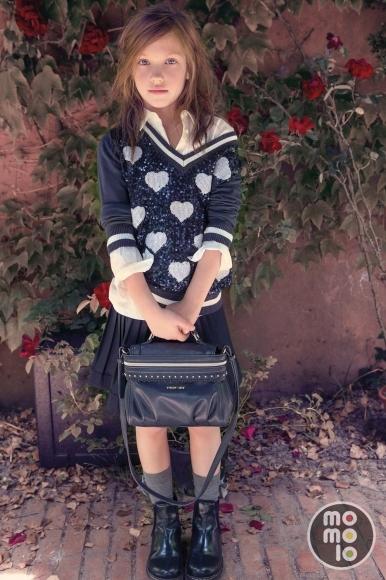4c34f2398aea Perfil de Twin Set Girl   MOMOLO Street Style Kids :: La primera red ...