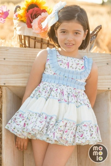 MOMOLO | moda infantil |  Vestidos Chic to kids, Lazos Chic to kids, niña, 20160131004623