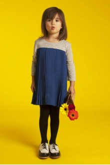MOMOLO | moda infantil |  Vestidos A For Apple, Bluchers A For Apple, niña, 20140118003506