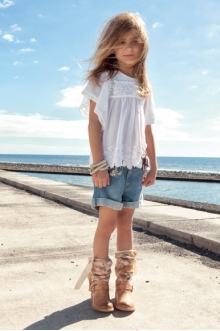 MOMOLO | moda infantil |  Botines Twin Set Girl, Camisas Twin Set Girl, Pantalones cortos / Shorts Twin Set Girl, niña, 2147483647