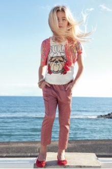MOMOLO | moda infantil |  Rebecas Twin Set Girl, Camisetas Twin Set Girl, Pantalones largos Twin Set Girl, Bailarinas Twin Set Girl, niña, 20140211002253