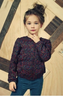 MOMOLO | moda infantil |  Chaqueta tweed American Outfitters, Pantalones Vaqueros / Jeans American Outfitters, niña, 20140621090245