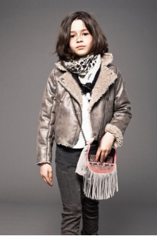 MOMOLO | fashion kids |  Anoraks Ikks, Scarves / Foulards Ikks, Bags Ikks, Trousers Ikks, girl, 20140818010205