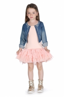 MOMOLO | moda infantil |  Chaqueta tweed Fun & Fun Girl, Vestidos Fun & Fun Girl, Deportivas / Zapatillas Fun & Fun Girl, niña, 20150522222640