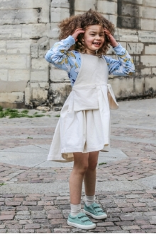 MOMOLO | moda infantil |  Camisas Mini Rodini, Vestidos Play is Work, niña, 20160503191718