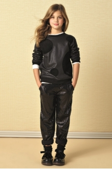MOMOLO | moda infantil |  Sudaderas Twin Set Girl, Pantalones largos Twin Set Girl, Botines Twin Set Girl, niña, 20160713100938