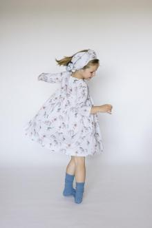MOMOLO | moda infantil |  Vestidos Counting Clouds, Pañuelos / Foulards Counting Clouds, niña, 20161201101253
