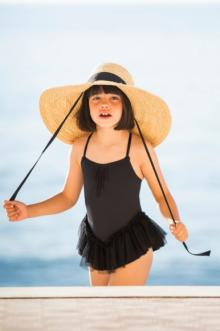 MOMOLO | fashion kids |  Swimwear Belle Chiara, Hat Belle Chiara, girl, 20170402161411