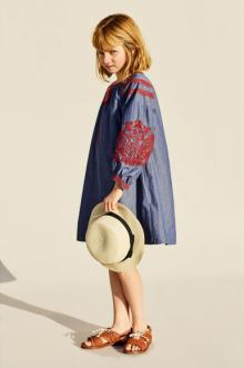 MOMOLO | fashion kids |  Dresses Zara, Hat Zara, Sandals Zara, girl, 20170606014342
