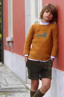 MOMOLO | moda infantil |  Cárdigans y jerséis Kids chocolate, Camisas Kids chocolate, Pantalones cortos / Shorts Kids chocolate, Calcetines Kids chocolate, niña, 20170822161624