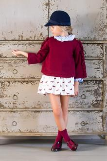 MOMOLO | moda infantil |  Cárdigans y jerséis Kid's chocolate, Camisas Kid's chocolate, Faldas Kid's chocolate, Gorros Kid's chocolate, Calcetines Kid's chocolate, niña, 20180905142403