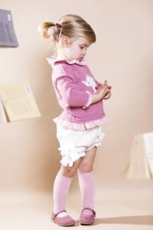 MOMOLO | fashion kids |  Pullover / Sweaters Fina Ejerique, Shorts Fina Ejerique, Socks Fina Ejerique, Mary Jane Fina Ejerique, girl, 20180905145204